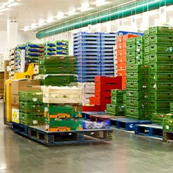 Optimized food warehousing