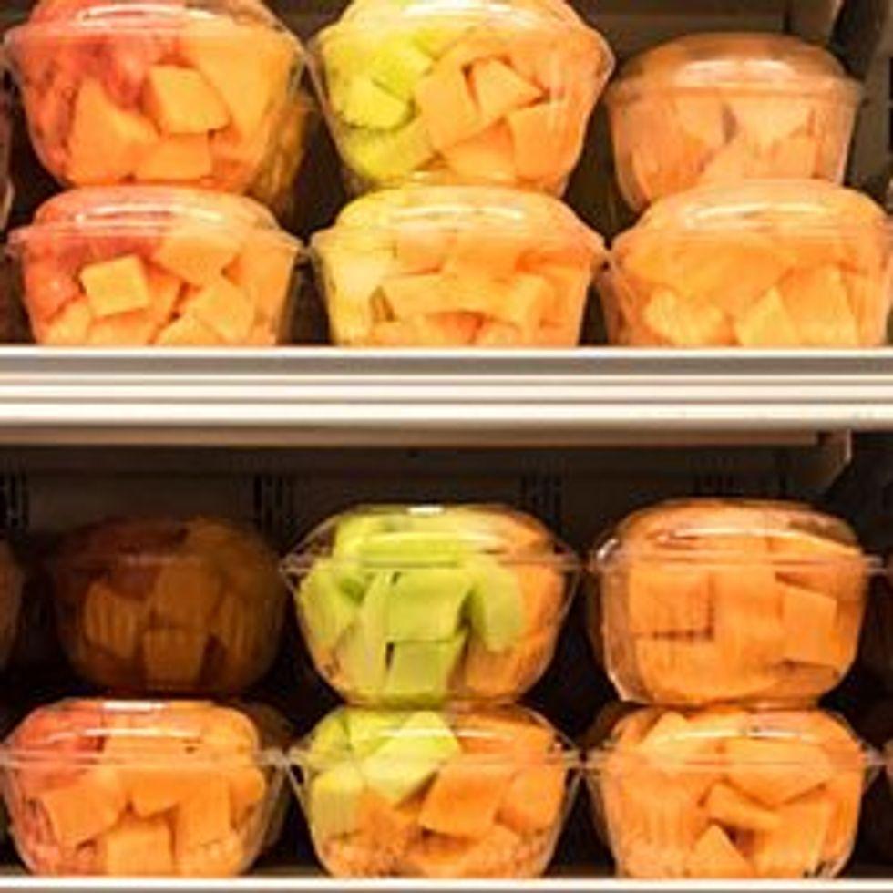Fresh fruits and produce