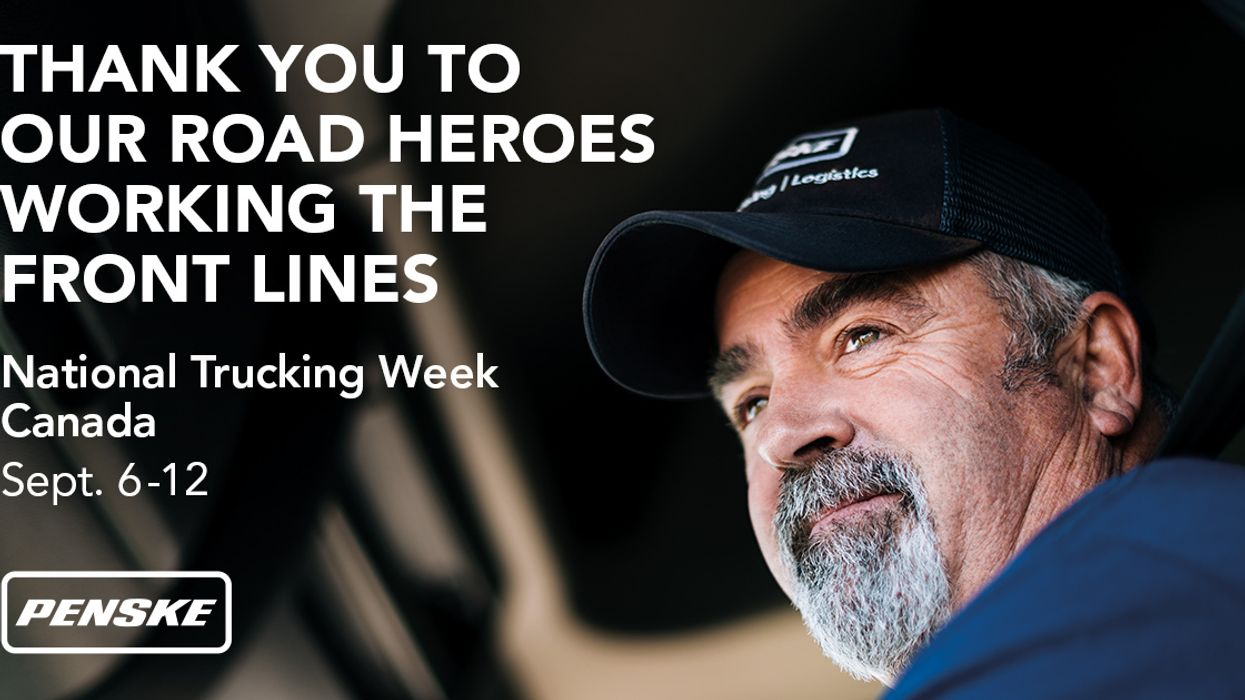 Penske Logistics Thanks Canadian Drivers During National Trucking Week