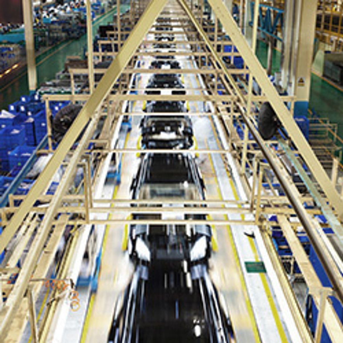 Use Data to Keep Automotive Production Lines Moving