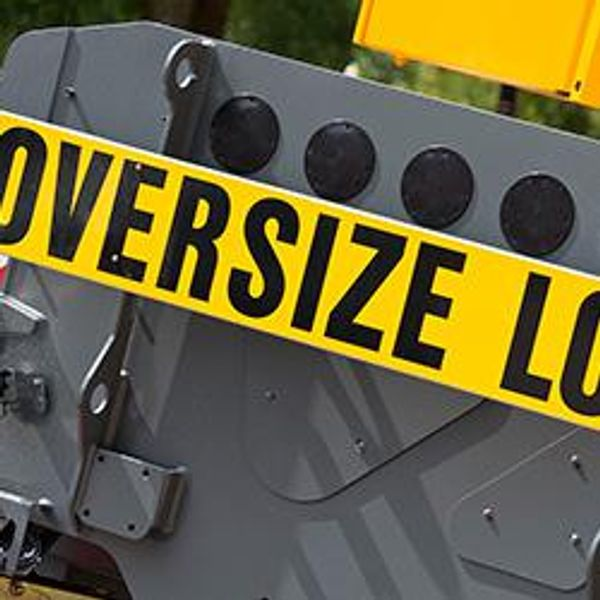 Oversize Load Caution Sign