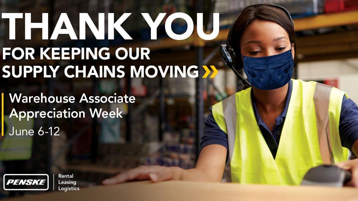 penske warehouse worker