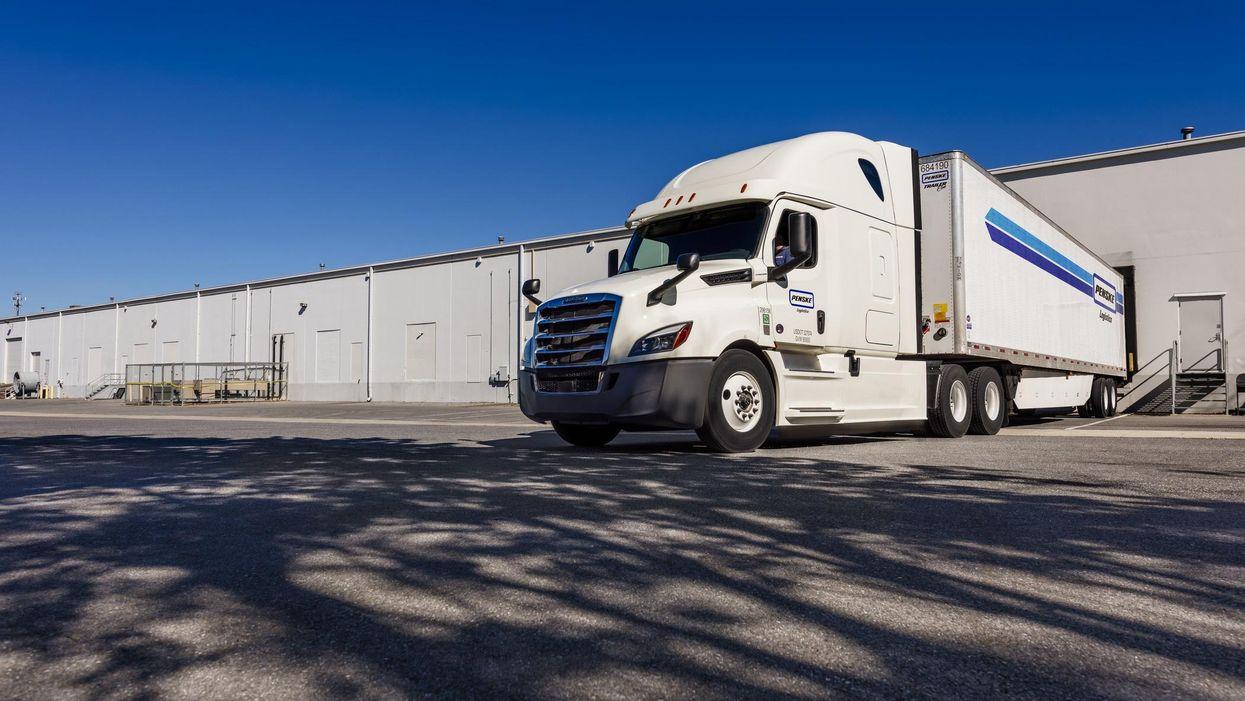 Penske Logistics Truck