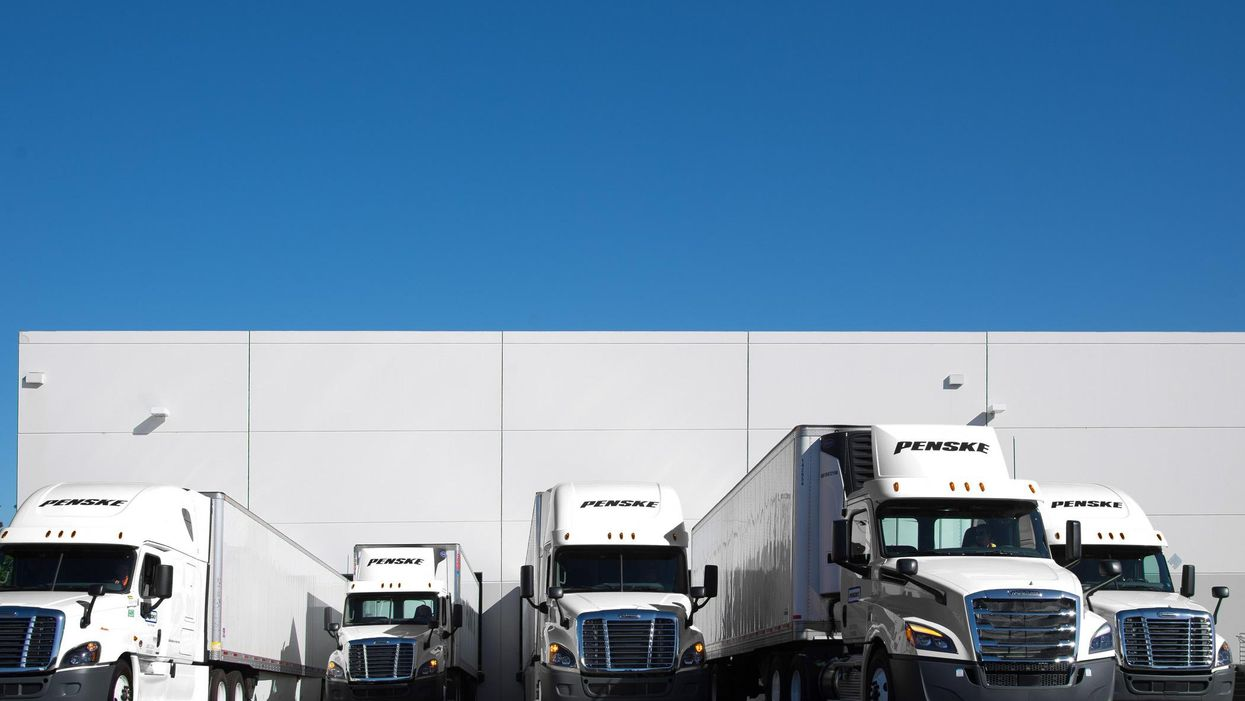 Penske Logistics Trucks