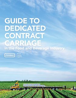 Guide to Dedicated Contract Carriage in the Food and Beverage Industry Cover Page